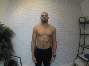 after weight loss, before water cut 81kg